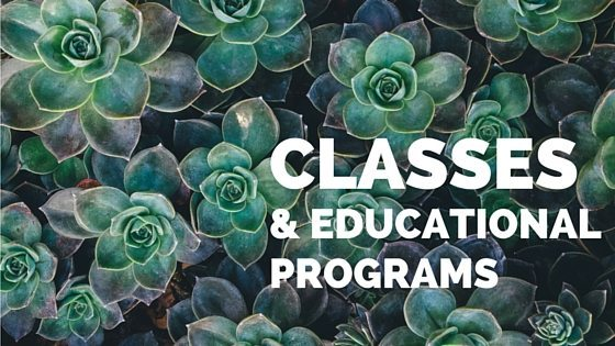 Classes and Educational Programs