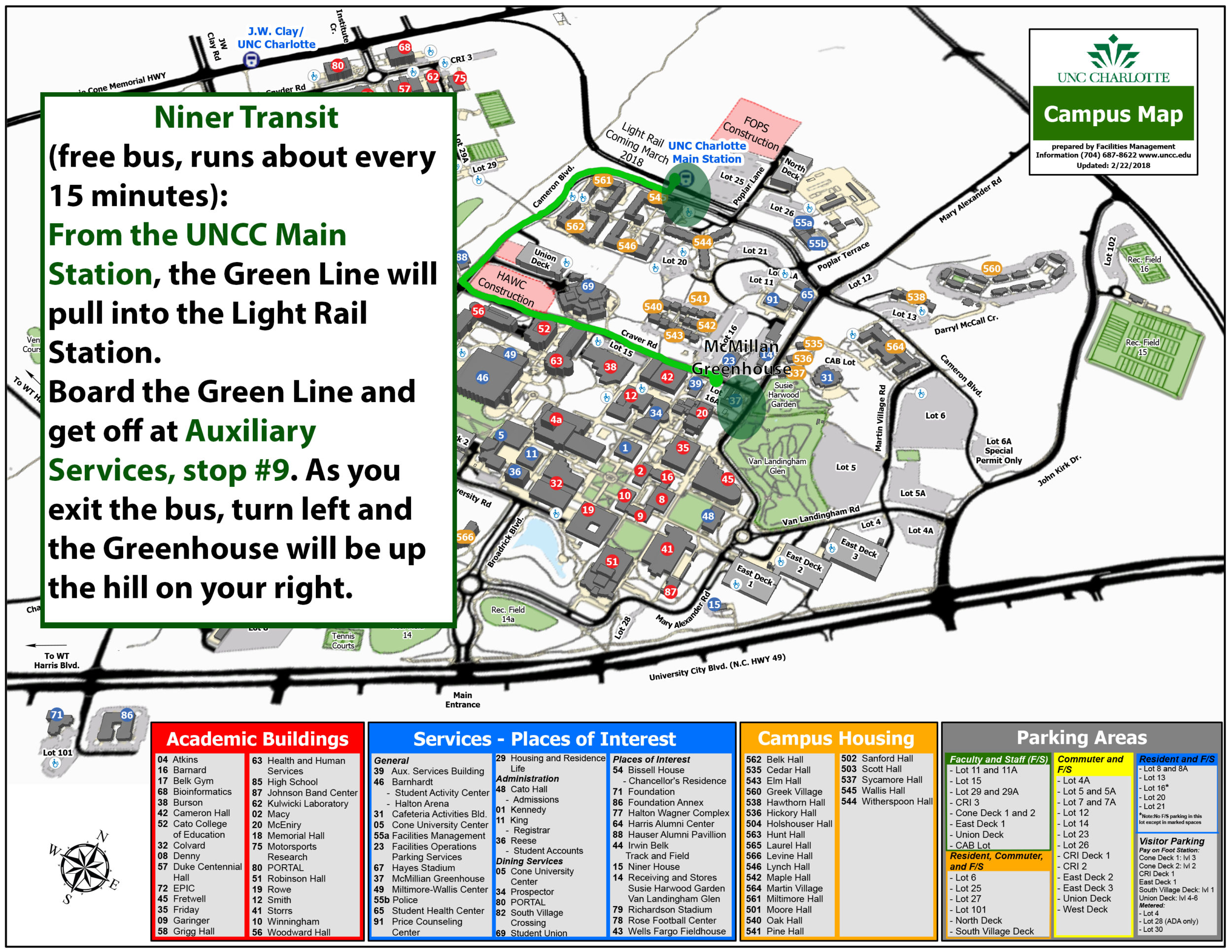 Botanical Gardens Parking And Directions