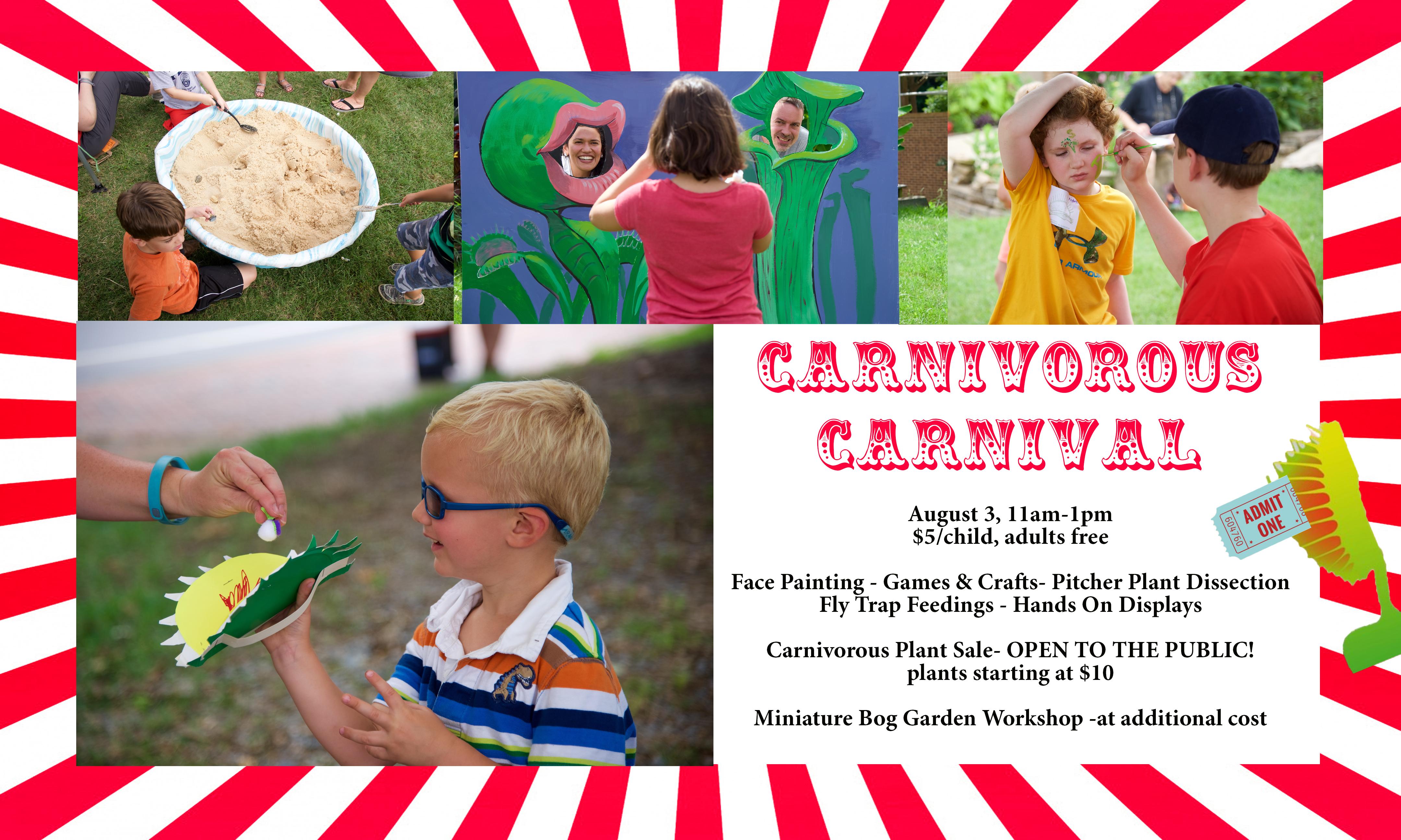carnivorous carnival uncc venus flytrap