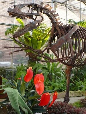 Nykie - Deinonychus Model in Dinosaur's Garden